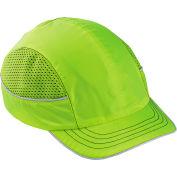 Ergodyne® Skullerz® 8950 Bump Cap, Lime, Short Brim, One Size