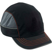 Ergodyne® Skullerz® 8950 Bump Cap, Black, Short Brim, One Size
