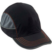 Ergodyne® Skullerz® 8950 Bump Cap, Black, Long Brim, One Size