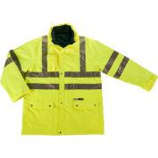 Ergodyne® GloWear® 8385 Class 3 4-in-1 Jacket, Lime, 3XL