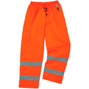 Ergodyne® GloWear® 8925 Class E Thermal Pants, Orange, 3XL