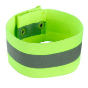 Ergodyne® GloWear® 8001 Arm/Leg Band, Lime, L/XL - Pkg Qty 12