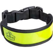 Ergodyne® GloWear® 8003 Arm/Leg Band, Lime, One Size - Pkg Qty 12
