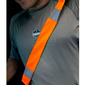 Ergodyne® GloWear® Seat Belt Cover, One Size, Orange, 29041