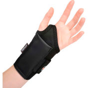 Ergodyne® ProFlex® 4000 Single Strap Wrist Support, Black, Large, Left