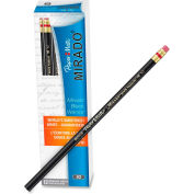 Paper Mate® Mirado Classic #2 Pencil With Eraser, Black, Dozen