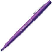 Paper Mate® Porous Point Flair Pen, Purple Barrel/Ink, Dozen