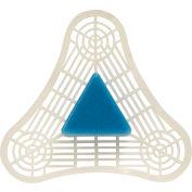 Earth Friendly Products UniTab Plus Triangular Urinal Tab, Blue Spice 12/Case - PL2626/12