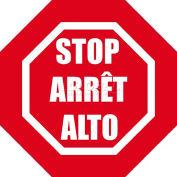 """Durastripe 12"""" Octagone Sign - Stop-Arret-Alto"""