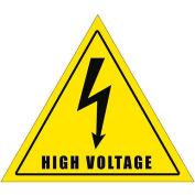 """Durastripe 16"""" Triangular Sign - Caution High Voltage"""