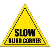 """Durastripe 20"""" Triangular Sign - Caution Slow Blind Corner"""