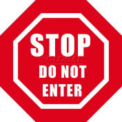 "Durastripe 24"" Octagone Sign - Stop Do Not Enter"