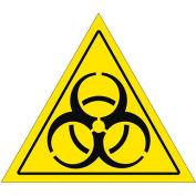 """Durastripe 24"""" Triangular Sign - Caution Biohazard"""