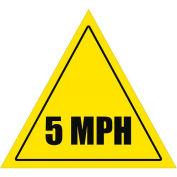 """Durastripe 24"""" Triangular Sign - Caution 5 Mph"""