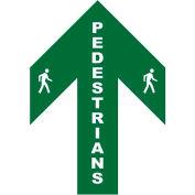 Durastripe 24X16 Arrow Sign - Pedestrians