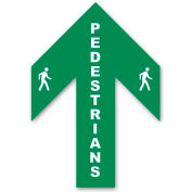 Durastripe 34X26 Arrow Sign - Pedestrian