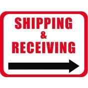 "Durastripe 30""X21"" Rectangle - Shipping & Receiving"