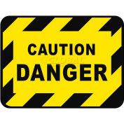 "Durastripe 30""X21"" Rectangle - Caution Danger"