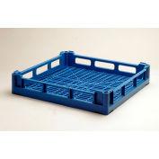 "Lamber CC00019 - Dishwashing Open Rack For Cups Plastic, 20""L x 20""W x 2-1/4""H"