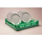 "Lamber CC00024 - Dishwashing Plate Rack 12-18 Plates Plastic, 20""L x 20""W"