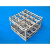 """Lamber CC00125 - Dishwasher Rack For 16 Glasses, Plastic, 16""""L x 16""""W x 9-3/8""""W"""