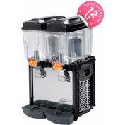 Cofrimell Juice Dispenser, (2) 3 Gallon Tanks 110V - CD2J