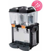 Cofrimell Juice Dispenser, (4) 3 Gallon Tanks 110V - CD4J