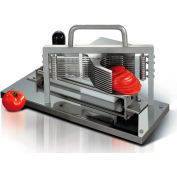 """Tellier CTX - Tomato Slicer Stainless Steel, Protective Housing 8""""L x 19""""W x 11""""H"""