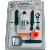 Bron Coucke DEC06 - 6 Fruit And Vegetable Decoration Tools