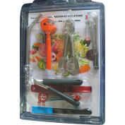 Bron Coucke DEC09 - 9 Fruit And Vegetable Decoration Tools
