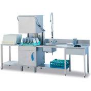 Lamber High Temp Pass Through Dishwasher, Drain Pump Included 208-240V - L21EKDPS