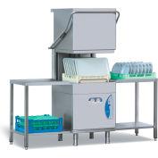 Lamber High Temp Pass Through Dishwasher Large, Gravity Drain 208-240V - L25EKS