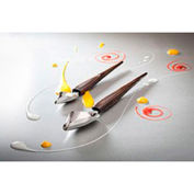 """Bron Coucke PLU01 - Deco Spoons, 2 Decorating Spoons, Stainless Steel, 7-1/2"""" And 9""""L"""