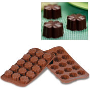Silikomart SCG08 - Baking Mold, Baking Mold, Fleury, Silicone, Makes 15 Pieces
