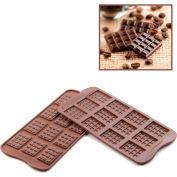 Silikomart SCG11 - Baking Mold, Tablette, Silicone, Makes 12 Pieces