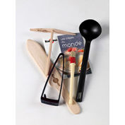 Krampouz SK0065 - Crepe Maker Kit For CEBPB2, 2 Spreaders, Ladle, Spatula, Brush, Water Container