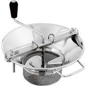 "Tellier X5 - Heavy Duty Professional Food Mill, Stainless Steel, 8 Qt. 14"" Dia."