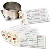 """Avery® Manifold Inventory Tags, Numbered 1 to 500, 6-1/4"""" x 3-1/8"""", Manila, 500 Tags/Box"""