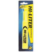 Avery® Hi-Liter Desk Style Highlighter, Chisel Tip, Fluorescent Yellow Ink, Pack 1