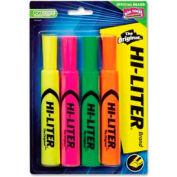 Avery® Hi-Liter Desk Style Highlighter / Chisel Tip / Yellow / Pink / Green / Orange / 4 / Pack