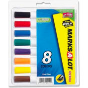 Avery® Marks-A-Lot Desk Style Dry Erase Marker, Assorted Ink, 8/Set