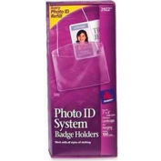 "Avery® Hanging Style Photo ID Badge Holders, Horizontal, 3"" x 4"", 100/Box"
