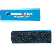 """Marks-A-Lot® Felt Dry Erase Eraser, Felt, 6-1/4""""W x 1-7/8""""D"""