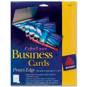 """Avery® Business Card, 2"""" x 3-1/2"""", White, 160 Cards/Pack"""