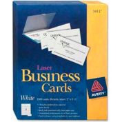 """Avery® Business Card, 2"""" x 3-1/2"""", White, 2500 Cards/Pack"""