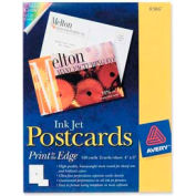 "Avery® Inkjet Post Card, 4"" x 6"", Matte, White, 100 Cards/Pack"