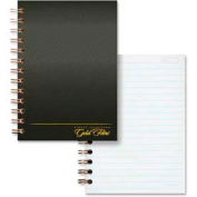 "Esselte® Gold Fibre Notebook, 5"" x 7"", Narrow Ruled, Burgundy Cover, 100 Sheets/Pad"