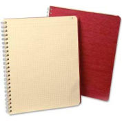"Esselte® Computation Book, 9-1/4"" x 11""-3/4, Red Cover, 76 Sheets/Pad"