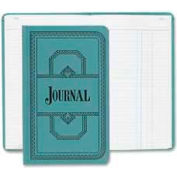 "Boorum & Pease® Account Book, Journal Ruled, 7-1/2"" x 12-1/8"", Blue Cover, 150 Pages/Pad"