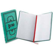 """Boorum & Pease® Account Book, Record Ruled, 12-1/8"""" x 7-1/2"""", Blue Cover, 300 Sheets/Pad"""
